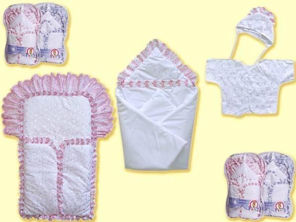 Выкройка конверта с капюшоном для новорожденного и мастер-класспо шитью