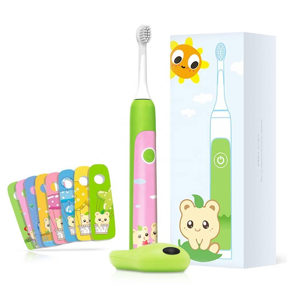 Детская электрическая зубная щетка — для детей от 3, 6, 8 лет, обзор
