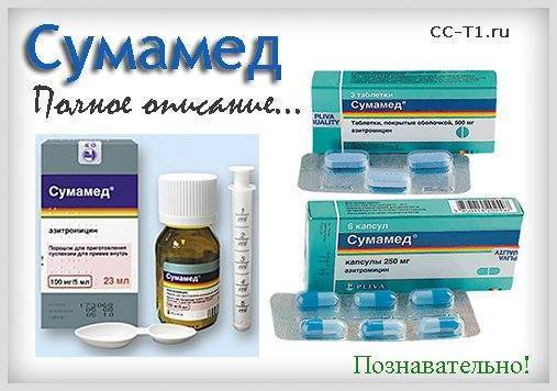 Инструкция по применению азитромицина для детей
