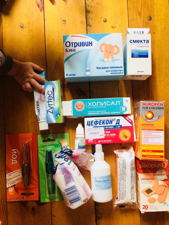 Аптечка для новорожденного: список необходимого | kukuzya.ru