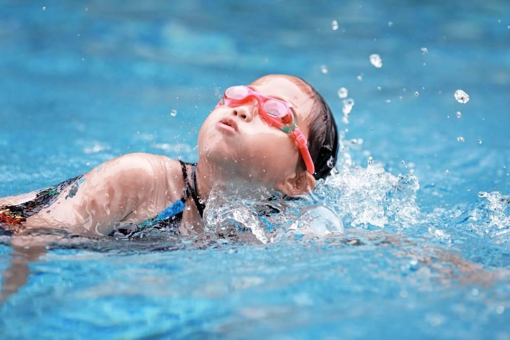 Обучение плаванию детей с 3 до 6 лет
