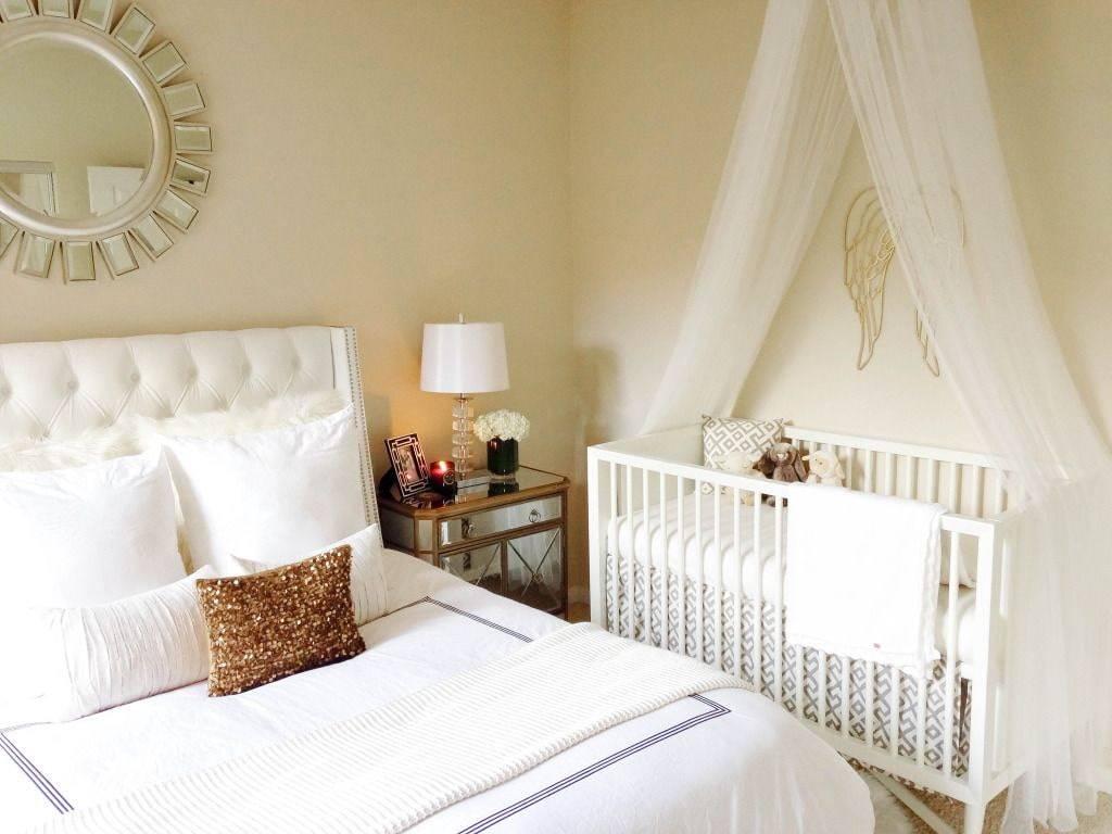 Дизайн спальни с детской кроваткой | интерьер и дизайн вашего дома