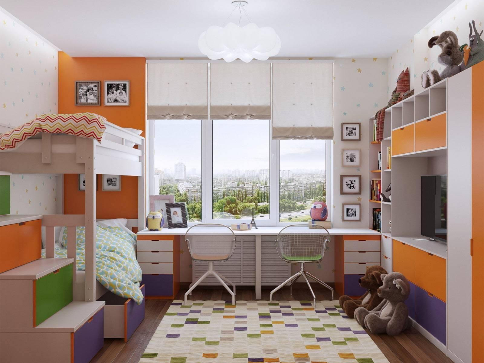 Гостиная и детская в одной комнате: как разделить на две зоны, зонирование