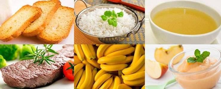 Диета при поносе у ребенка 1-3 лет: особенности питания при диарее и после