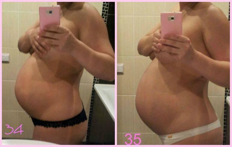 Почему на 37 неделе беременности каменеет живот