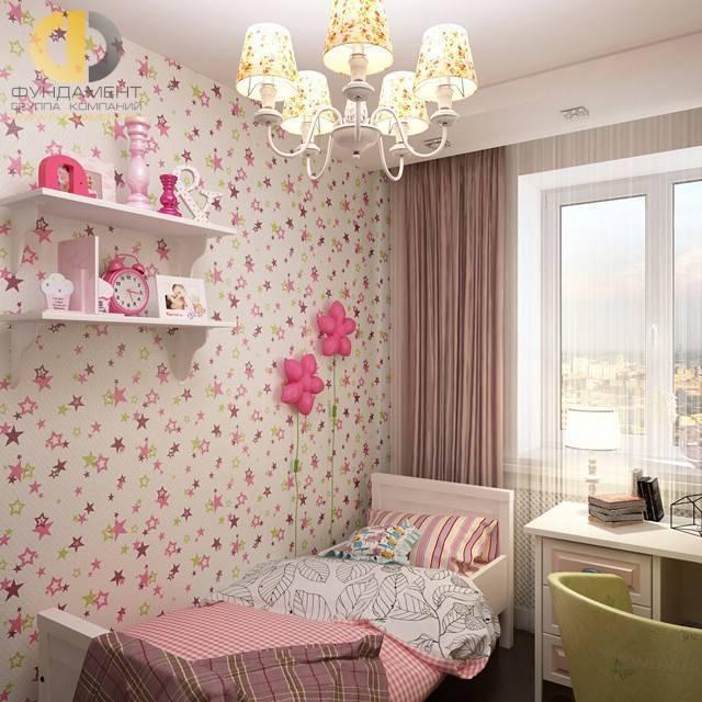 Варианты выбора обоев в интерьер детской комнаты