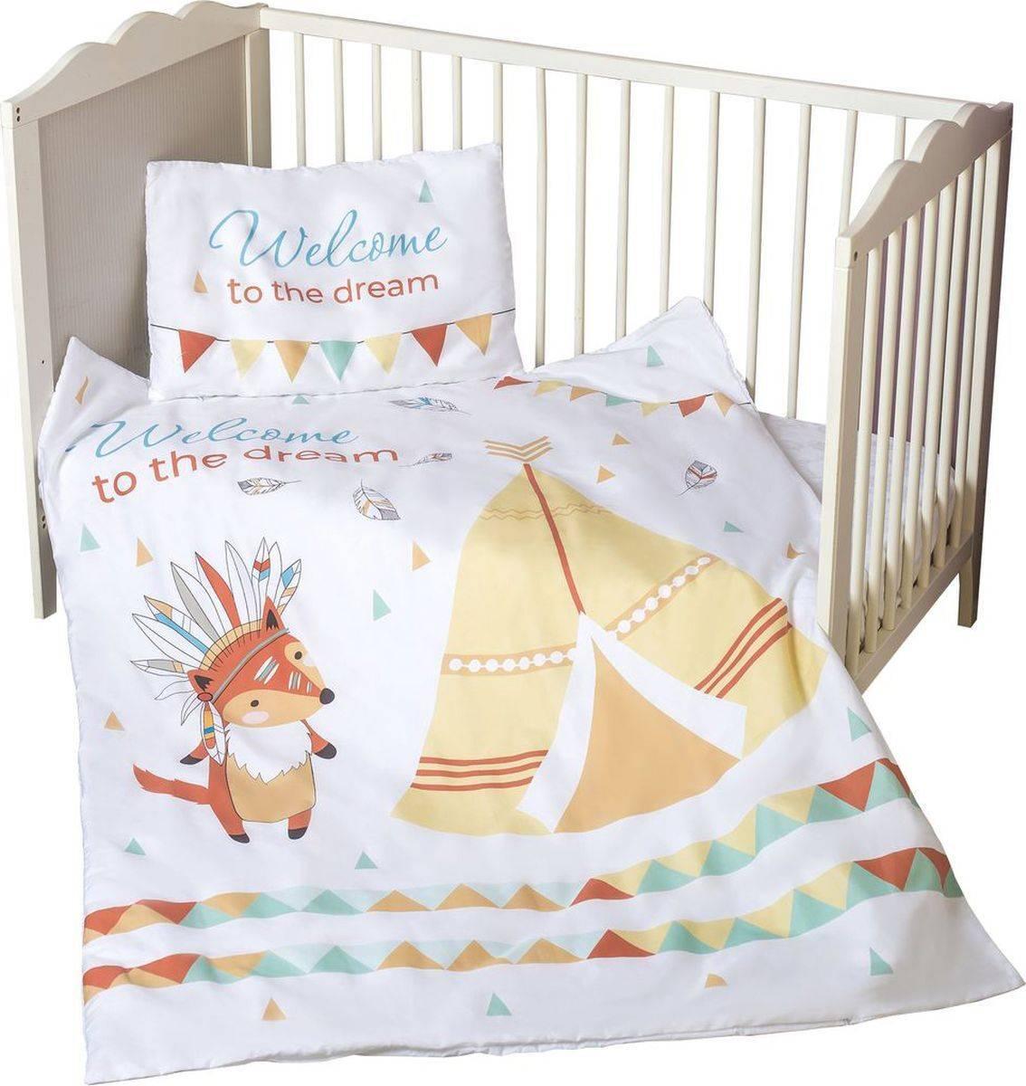 Комплект в кроватку для новорожденных из 7 предметов: входят ли в детский набор бортики и балдахин, а также в чем отличие от постельного белья из 4 и 6 вещей?