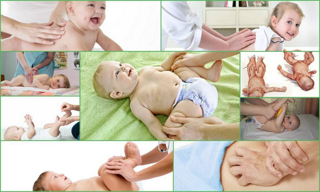 Массаж и упражнения лфк при дисплазии тазобедренных суставов у грудничков и детей до года - все о суставах