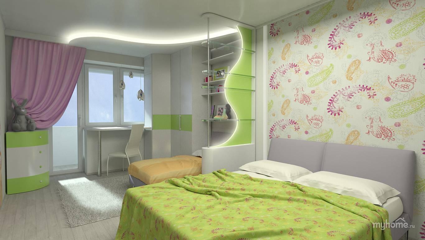 Спальня, совмещенная с гостиной - 125 фото примеров идей оформления интерьера