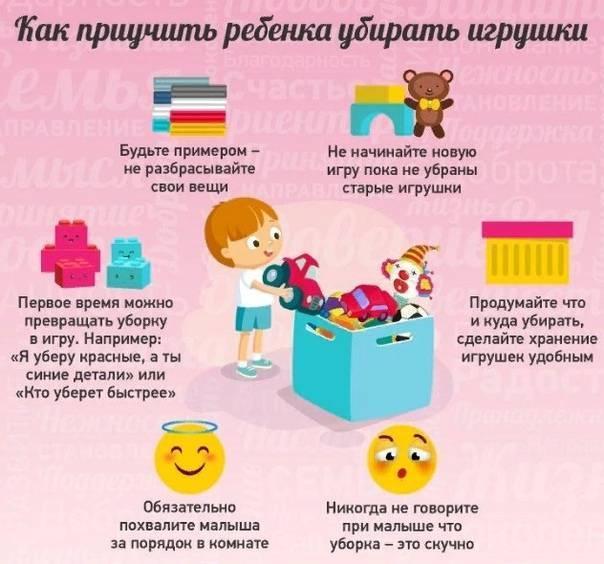Как приучить детей к порядку, чистоте и аккуратности и как научить ребенка убирать за собой
