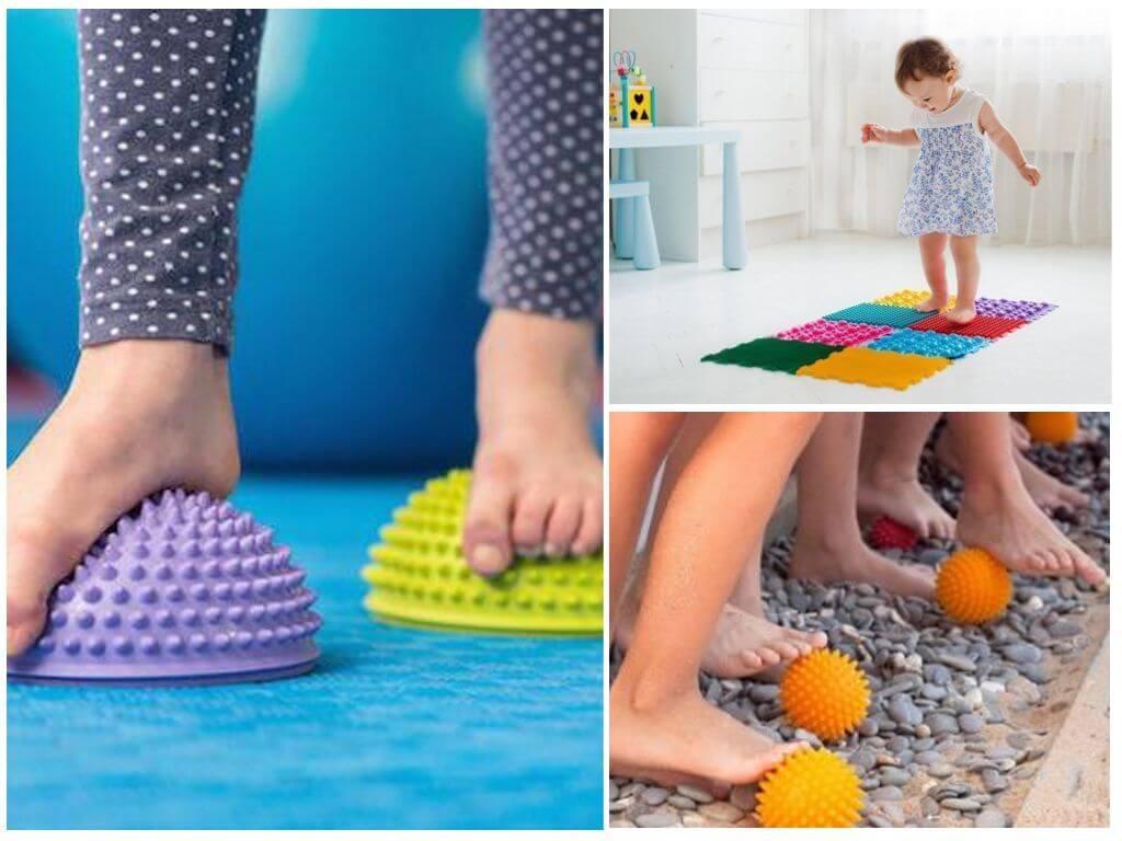 Массажный коврик от плоскостопия для детей: польза упражнений