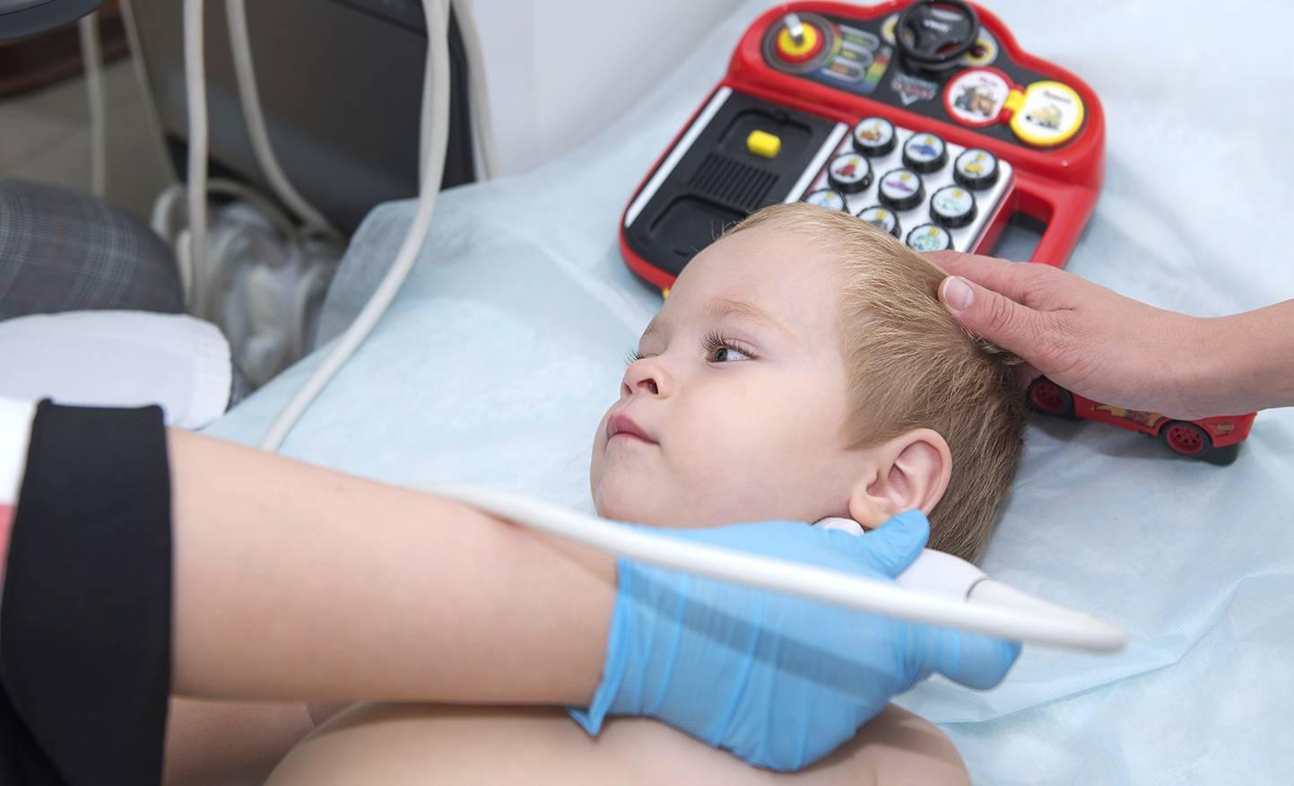 Узи шейного отдела позвоночника у детей ростов