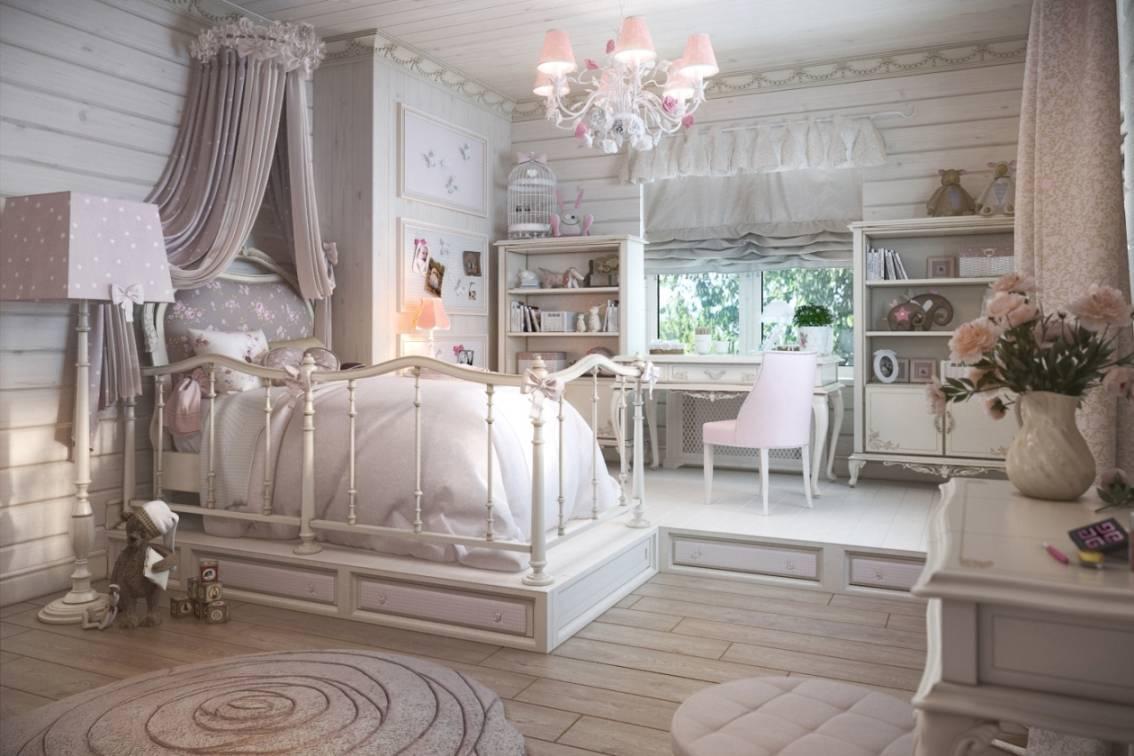 Детская в стиле прованс: 5 правил оформления комнаты