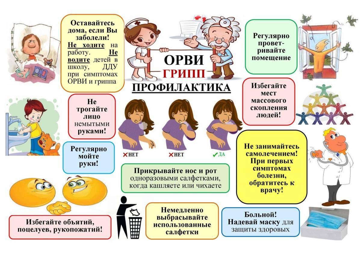 Профилактика ОРВИ у детей, гриппа и простуды: препараты и прививки для предупреждения болезни