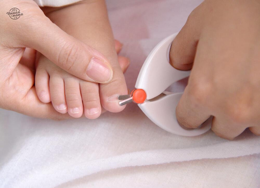 Как подстричь ногти новорожденному первый раз - всё о грудничках