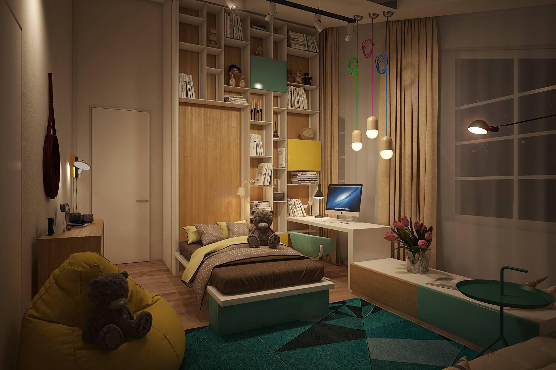78 идей дизайна комнаты подростка — лучшие интерьеры на фото от ivd.ru