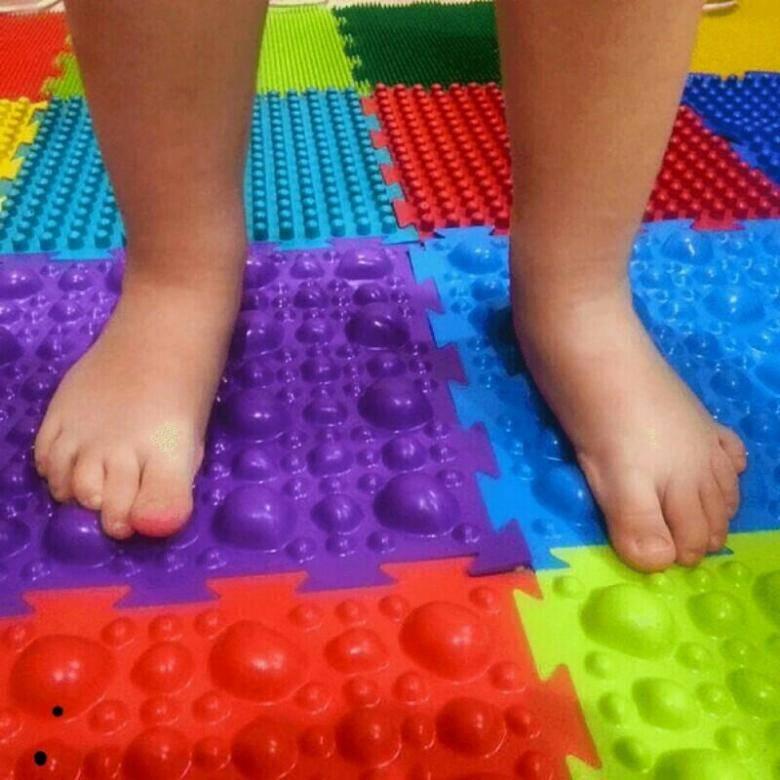 Ортопедический коврик для детей пазл от плоскостопия (19 фото): выбираем массажный для профилактики и лечения
