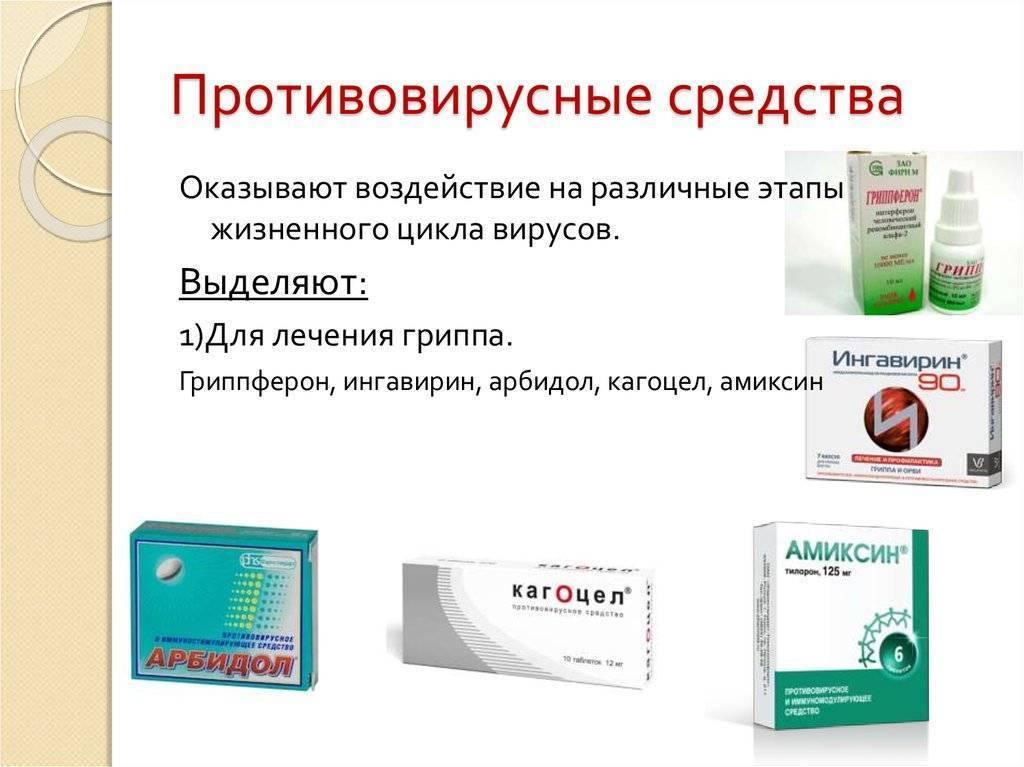 Противовирусные средства для детей – эффективные и недорогие препараты для ребенка от 1-3 лет