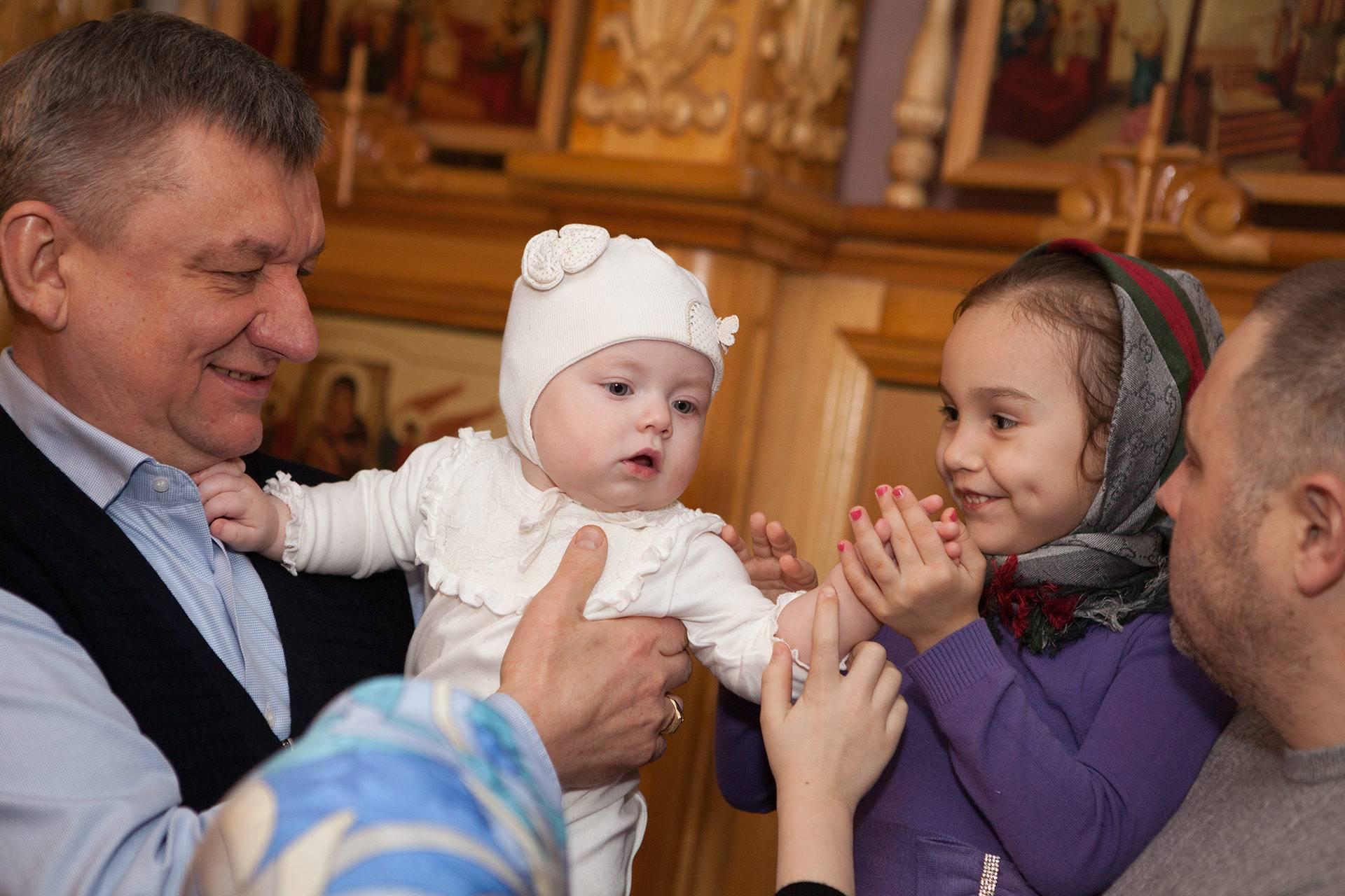 Что дарят на крещение?