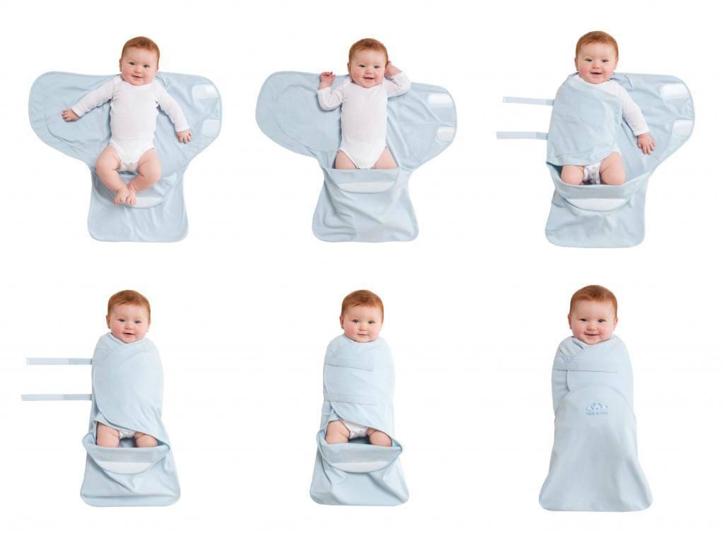 Как запеленать новорожденного ребенка в одеяло?