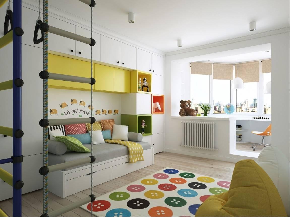 Детская комната 9 кв. м. - 140 фото современных решений в дизайне интерьера