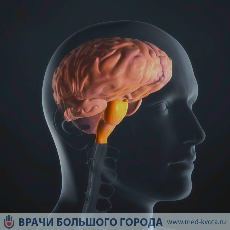 Злокачественная глиома головного мозга