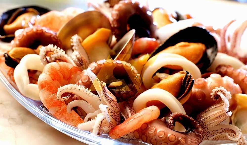 Морепродукты для потенции - мидии, устрицы, креветки