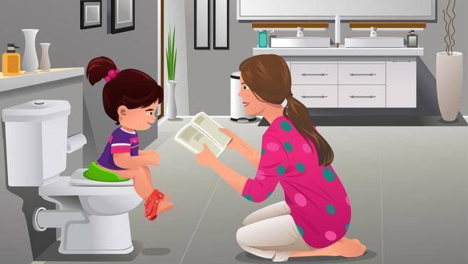 Психологический запор у ребенка: 2, 3, 4 года, что делать?