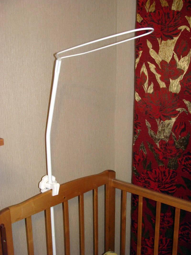 Как сделать полезный и эффектный балдахин над кроватью? как закрепить?