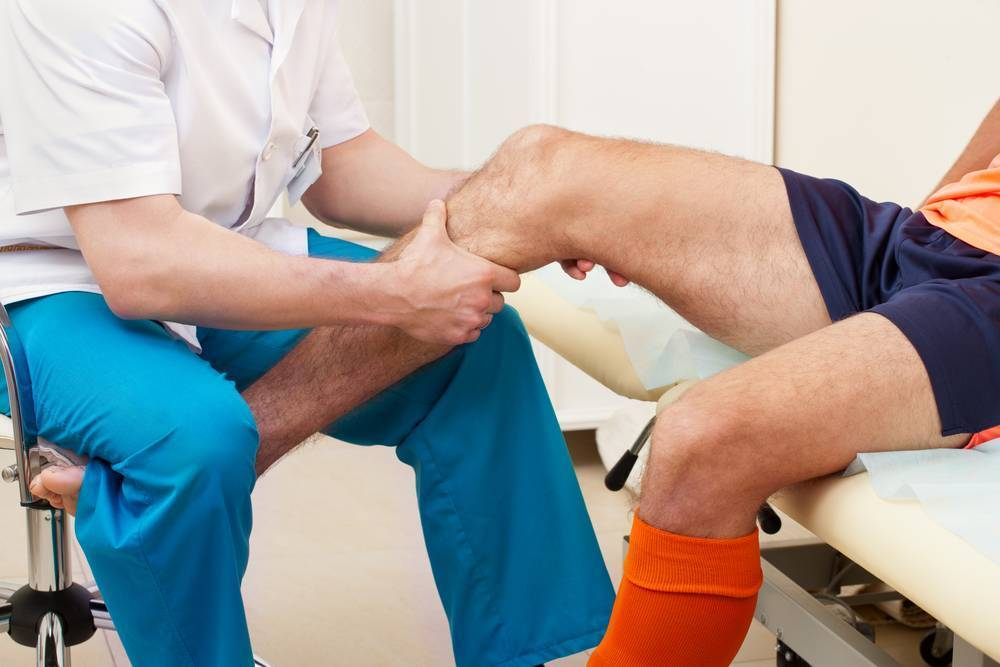 Болит колено у ребенка 2 лет - здоровые конечности