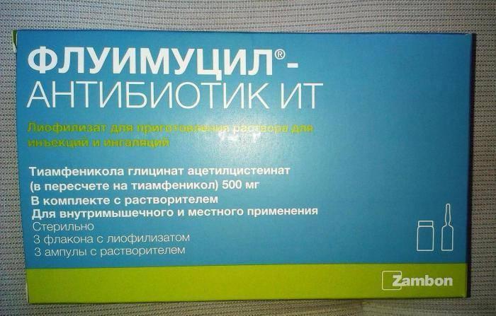 Флуимуцил-антибиотик ит для ингаляций: инструкция по применению pulmono.ru флуимуцил-антибиотик ит для ингаляций: инструкция по применению