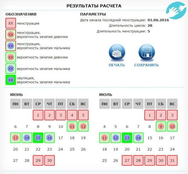 Время овуляции., калькулятор онлайн, конвертер