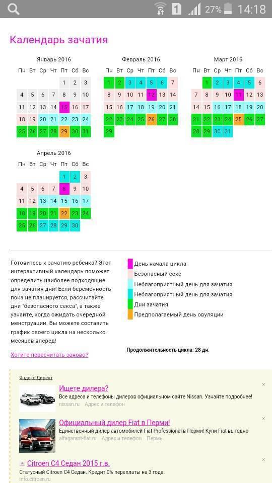 Рассчитать овуляцию: калькулятор, как составить календарь благоприятных для зачатия дней?   признаки   vpolozhenii.com