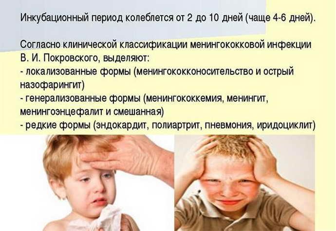 Менингит у детей: симптомы, признаки и лечение