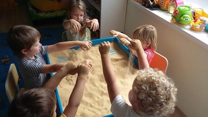 Использование песочной терапии для формирования психологического здоровья детей