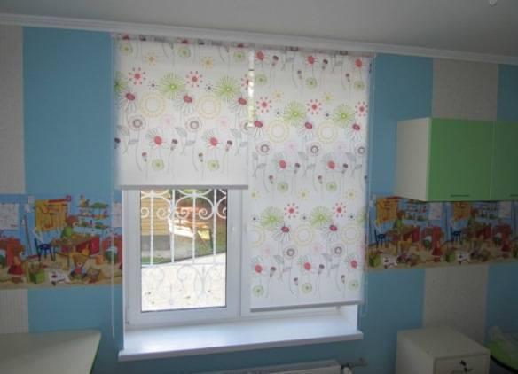 Рулонные шторы для детской – 7 шагов выбора, 20 фото и 3 видео