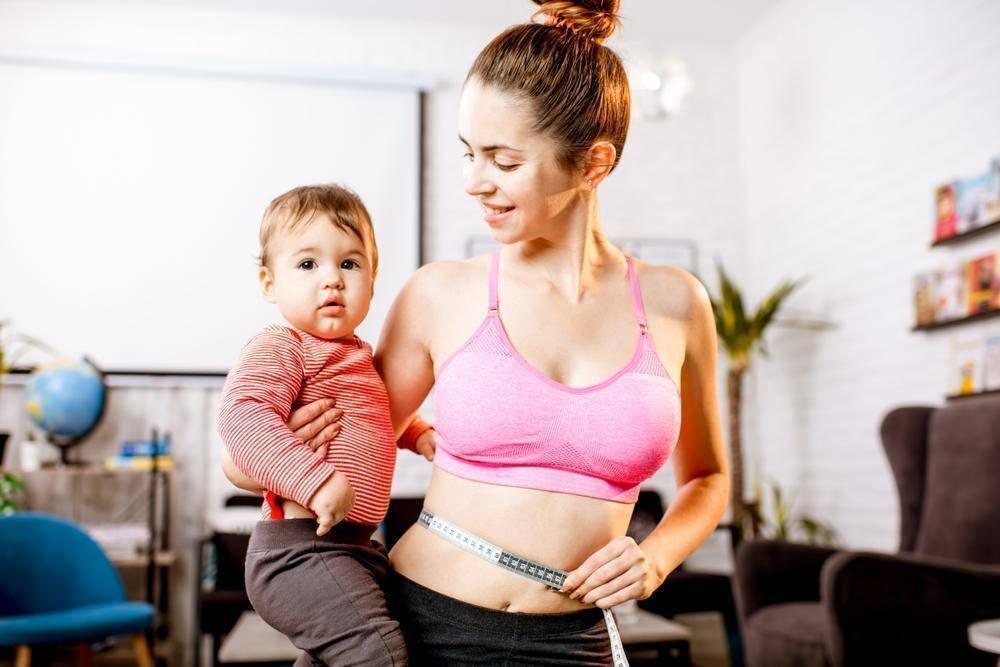 Как похудеть после родов, если кормишь грудью