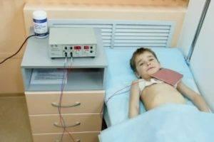 Электрофорез грудничку какие лекарства