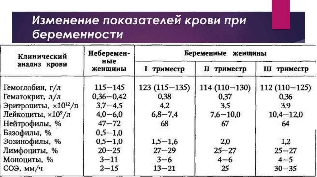 Анализ крови на сахар при беременности: норма, таблицы, расшифровка