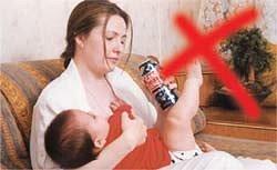 Можно ли курить кормящей маме: опасности и последствия