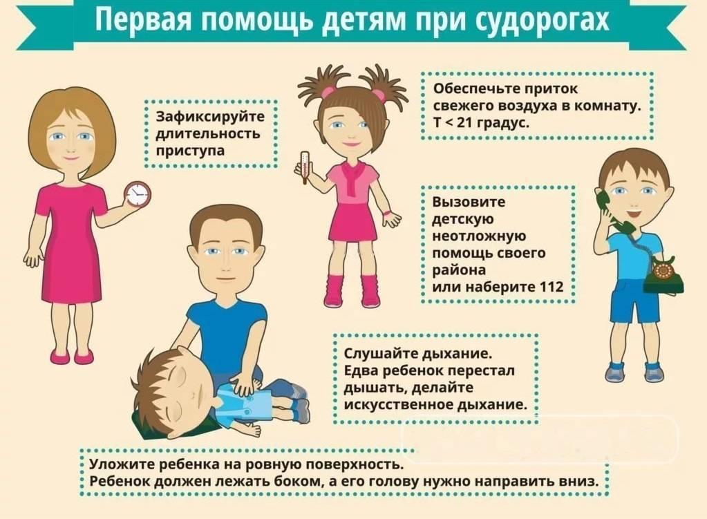 Фебрильные судороги у детей - что это такое, какова первая помощь?