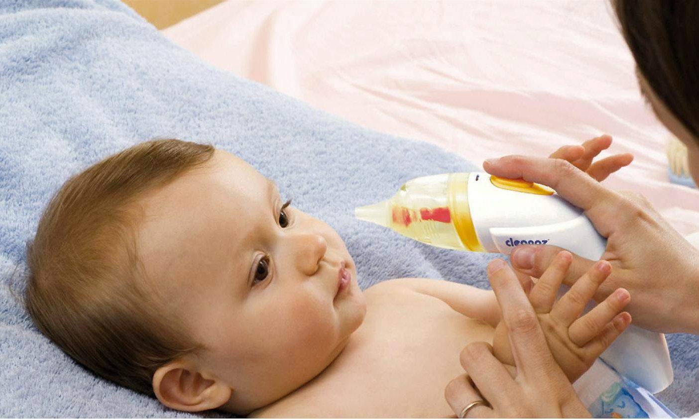 Скорое лечение насморка трёхмесячному малышу