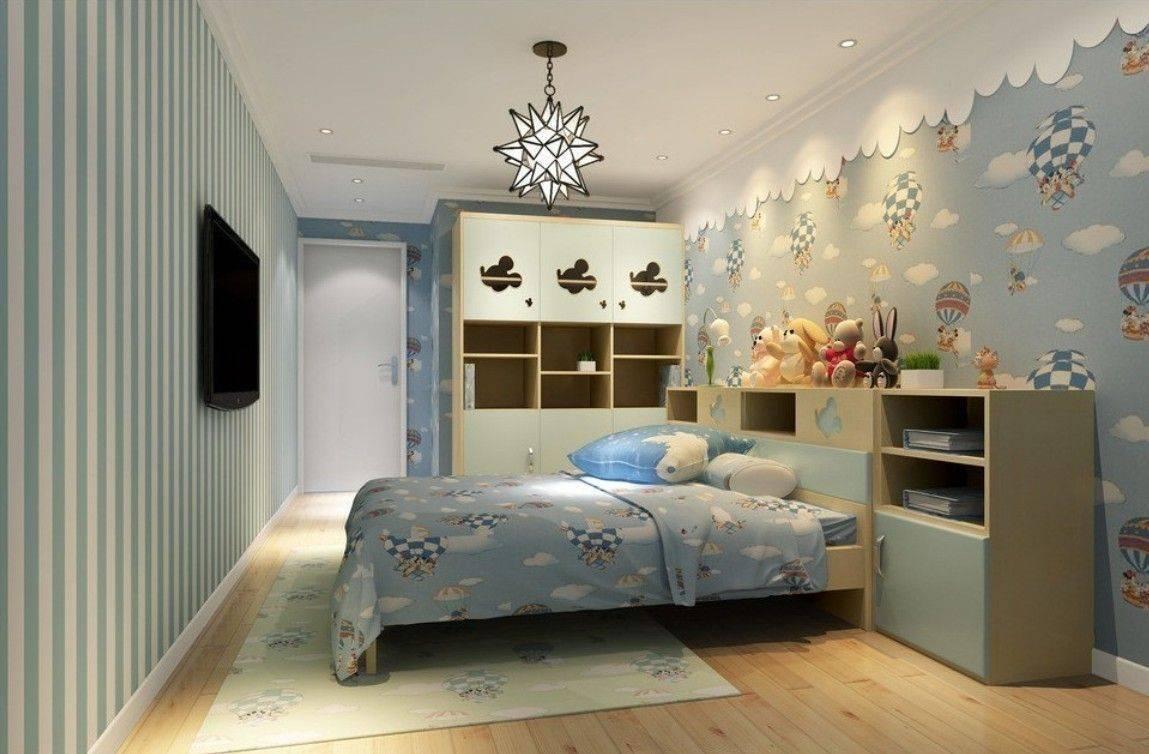 Детские фотообои (101 фото):  обои для стен в комнате для детей, дисней, трансформеры, тачки и корабль в интерьере