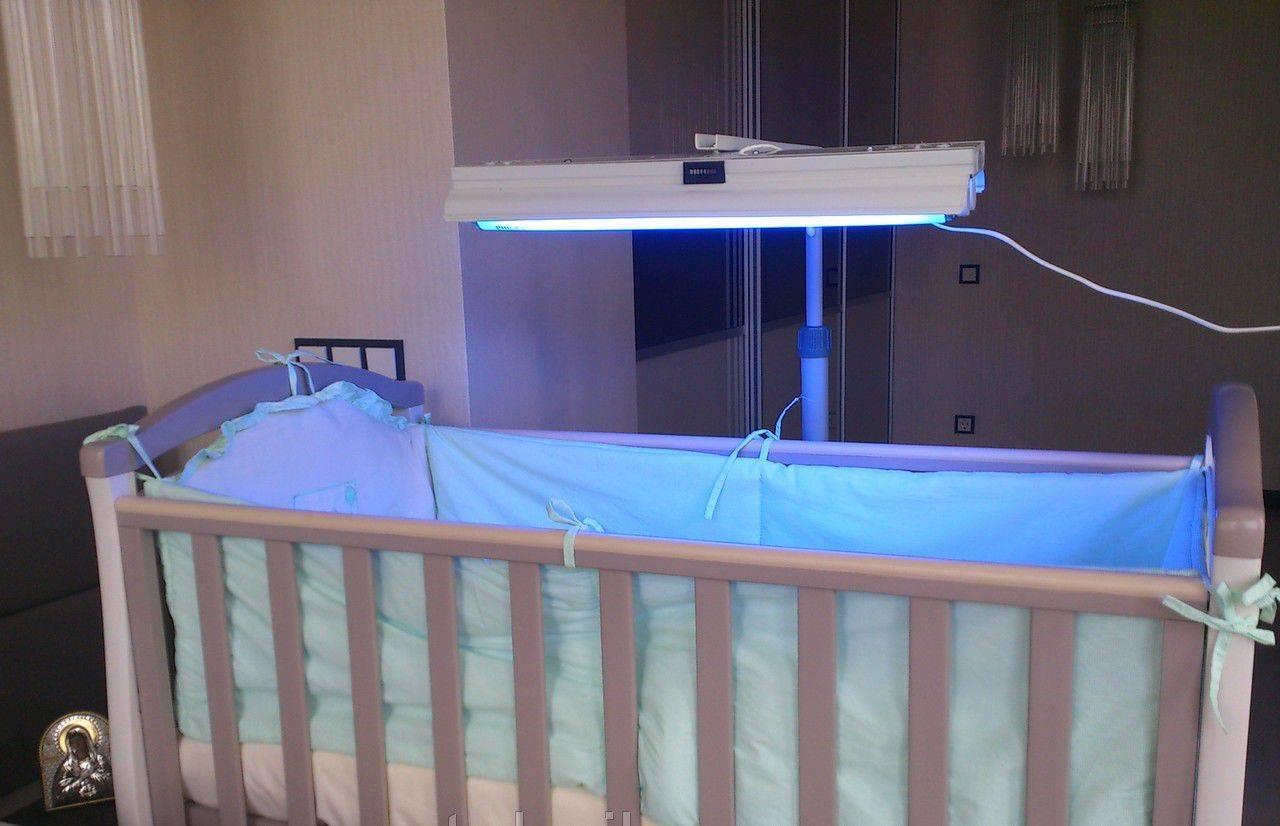 Лампы для фототерапии при желтухе у новорожденных