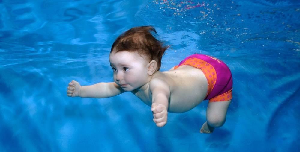 Основные правила грудничкового плавания