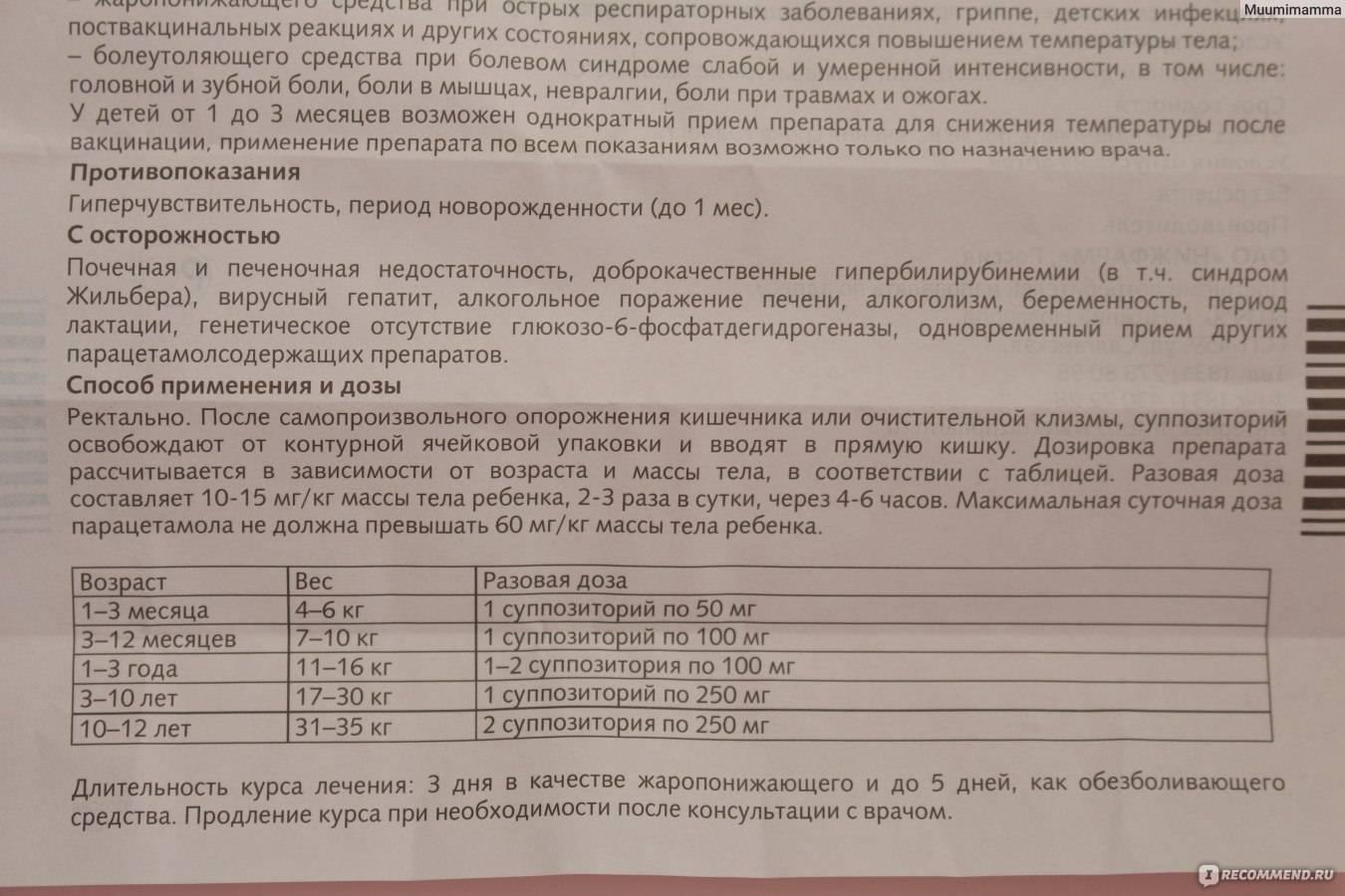 Парацетамол детям инструкция по применению в виде таблеток от высокой температуры