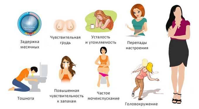 Как определить беременность на ранних сроках до задержки месячных без теста