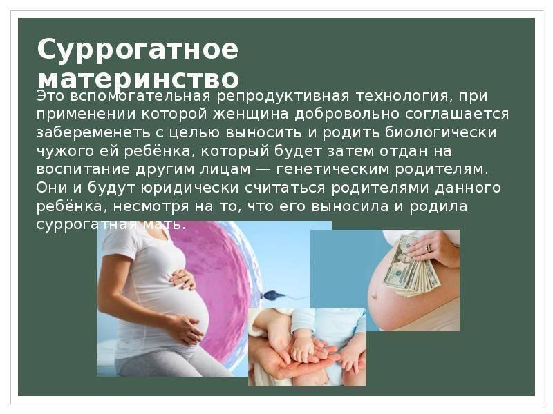 Цена суррогатной мамы, или почем ныне дети - марина алексеева, 01 июля 2020