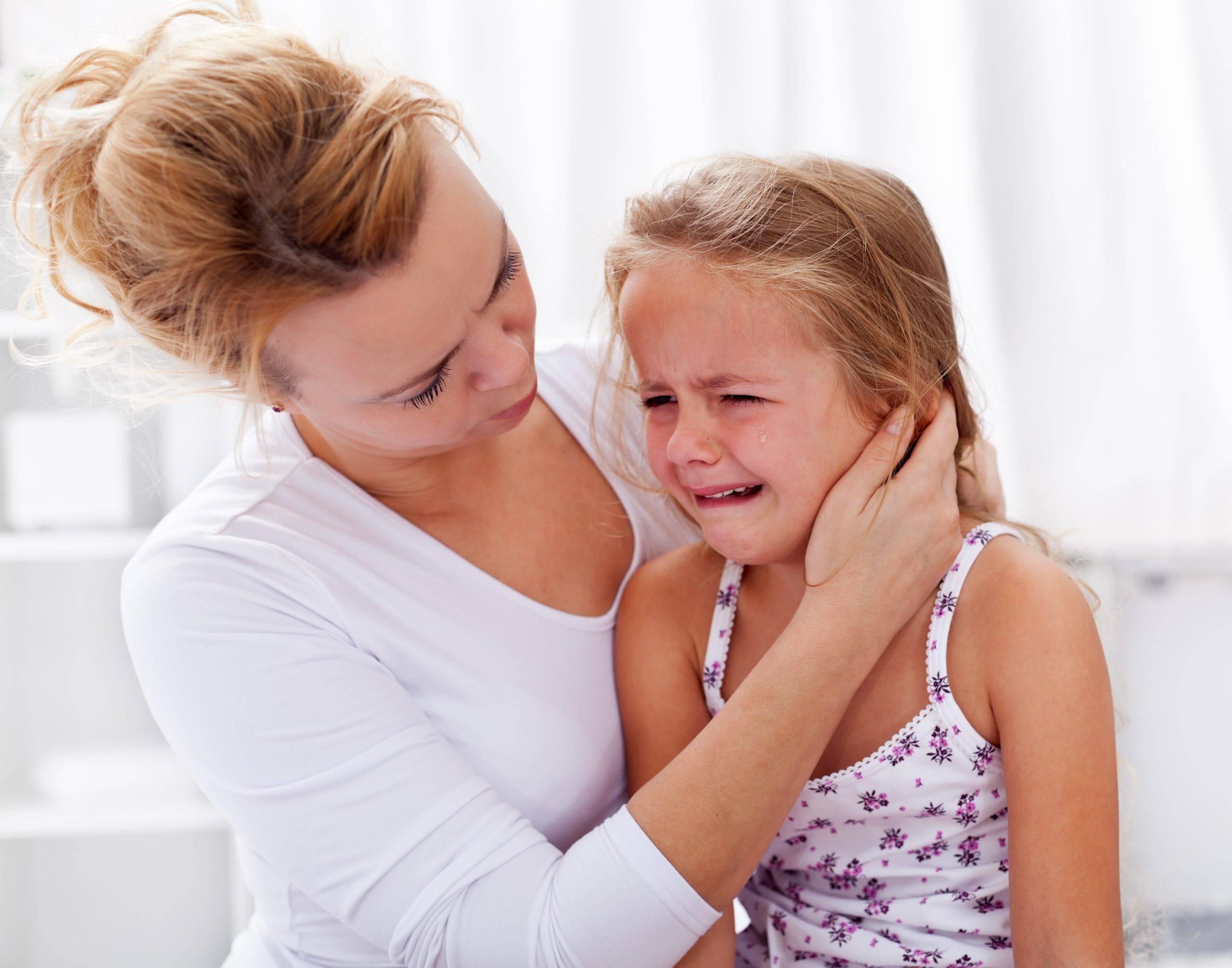 Как отучить ребенка плакать по любому поводу