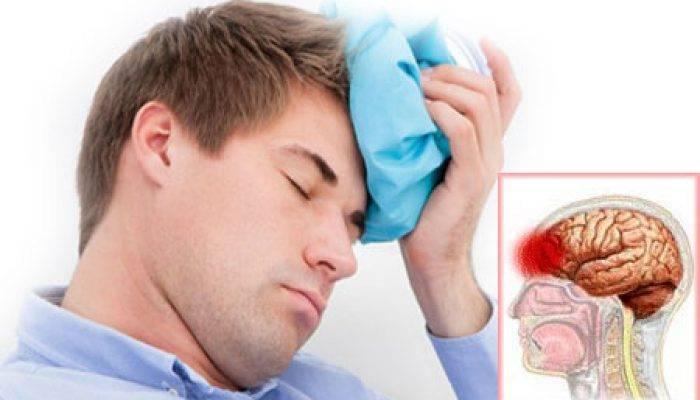 Удар затылочной части головы